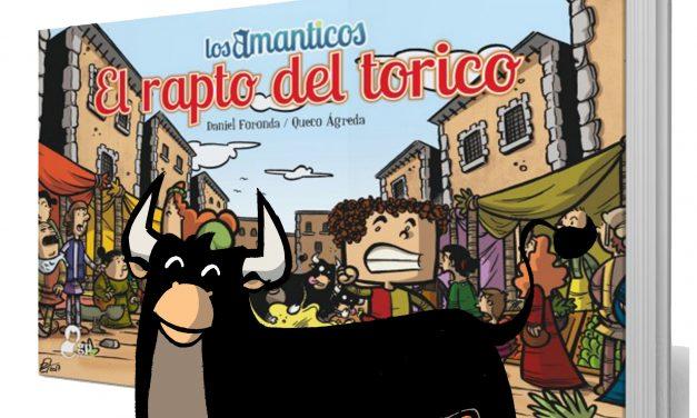 """Presentación del comic """"Los amanticos. El rapto del torico""""."""