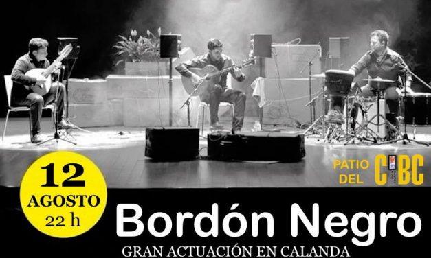 """""""Bordón Negro"""" en concierto"""
