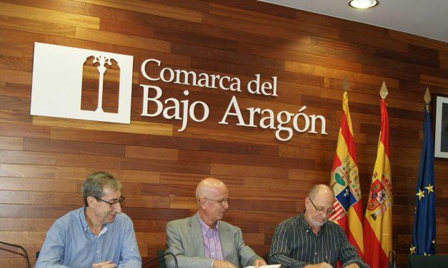 Comarca del Bajo Aragón y Centro Buñuel sellan acuerdo anual de colaboración.