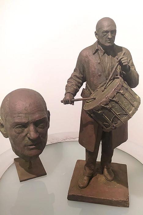 Esculturas de Luis Buñuel